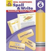 Evan-Moor® Skill Sharpeners Spell and Write Book, Grades 6th
