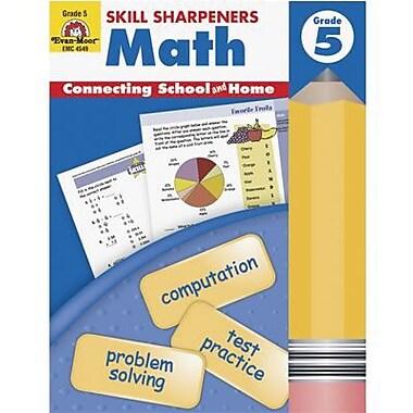 Evan-Moor® Skill Sharpeners Math Book, Grades 5th