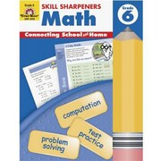 Evan-Moor® Skill Sharpeners Math Book, Grades 6th