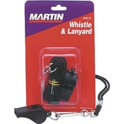 Martin Sports® Equipment Whistle and Lanyard Set