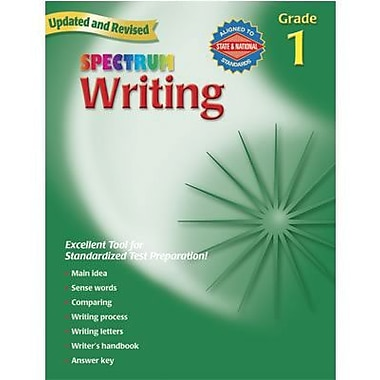 Spectrum Writing Workbook, Grades 1st
