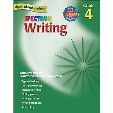 Spectrum Writing Workbook, Grades 4th