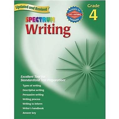 Spectrum Writing Workbook, Grades 4th