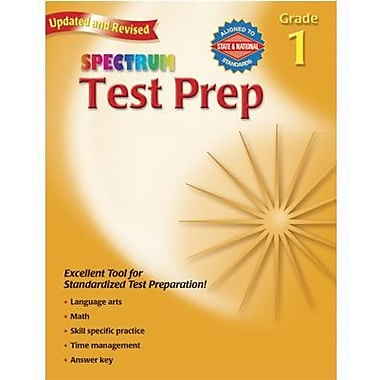 Spectrum® Test Preperation Book, Grades 1st