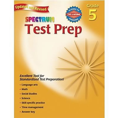 Spectrum® Test Preperation Book, Grades 5th