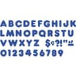 Trend Enterprises® Casual Ready Uppercase Letter, 2in., Royal blue