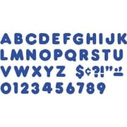 Trend Enterprises® Casual Ready Uppercase Letter, 2, Royal blue