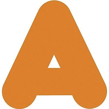 Trend Enterprises® Casual Ready Letter, 4in., Orange
