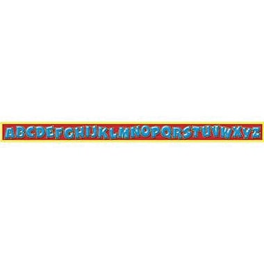 Trend Enterprises® Pre-kindergarten - 3rd Grades Bulletin Board Border, Awesome Alphabet