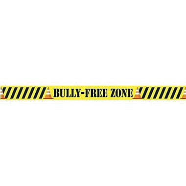 Trend Enterprises® pre-kindergarten - 9th Grades Bulletin Board Border, Bully Free Zone