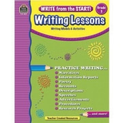 Teacher Created Resources® Write From The Start! Writing Lessons Book, Grades 3rd