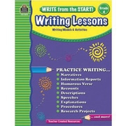 Teacher Created Resources® Write From The Start! Writing Lessons Book, Grades 4th