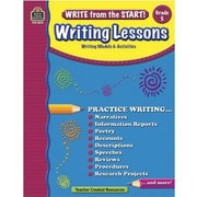 Teacher Created Resources® Write From The Start! Writing Lessons Book, Grades 5th