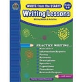 Teacher Created Resources® Write From The Start! Writing Lessons Book, Grades 6th - 8th