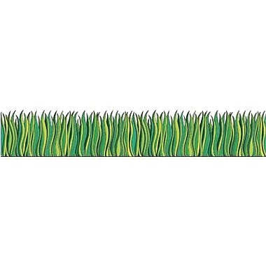 Teacher's Friend TF-3302 8.5in. x 24in. Straight Tall Grass Punch Outs Border, Green