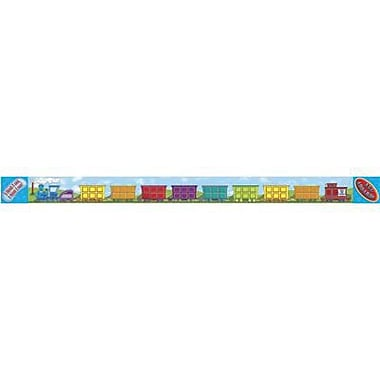 Teacher's Friend® Pre Kindergarten - 8th Grades Bulletin Board Border With Corners, All Aboard