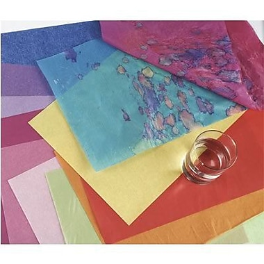 Pacon® Spectra® 30in. x 20in. Deluxe Bleeding Art Tissue Paper, Black
