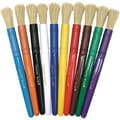 Chenille Craft® Bristle Brush, Natural, Canister of 10