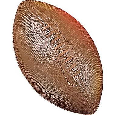 Champion Sports® Coated High Density Foam Football, Brown
