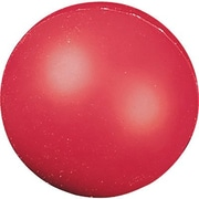 "Champion Sports® High-Density Coated Foam Ball, Red, 4""(Dia)"