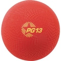 Champion Sports® Playground Ball, Red, 13in.(Dia)