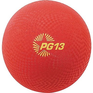 Champion Sports® Playground Ball, Red, 13