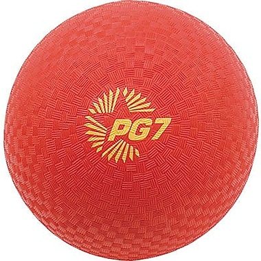Champion Sports® Playground Ball, Red, 7