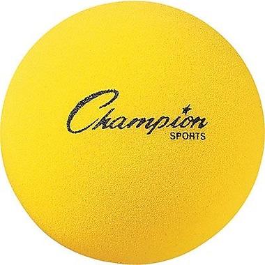 Champion Sports® Foam Ball, 8 1/2in.(Dia), Yellow
