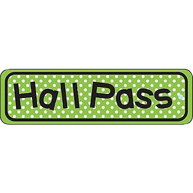 Heart & Sew® Hall Pass, Polka Dots, Green