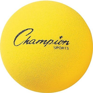 Champion Sports® Foam Ball, Yellow, 7in.(Dia)