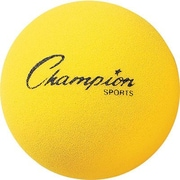 "Champion Sports® Foam Ball, Yellow, 7""(Dia)"