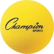 Champion Sports® Foam Ball, Yellow, 4in.(Dia)