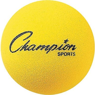 Champion Sports® Foam Ball, Yellow, 4