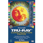 Pacon® Tru-Ray® Sulphite Construction Paper, Gray, 12(W) x 18(L), 50 Sheets