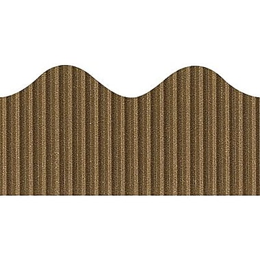 Pacon® Bordette® pre-school - 12th Grades Scalloped Decorative Border, Brown
