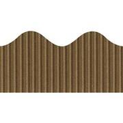 Pacon® Bordette® pre-school - 12th Grades Scalloped Decorative Border, Brown