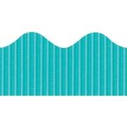 Pacon® Bordette® pre-school - 12th Grades Scalloped Decorative Border, Azure Blue