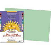Pacon® SunWorks® Groundwood Construction Paper, Light Green, 12(W) x 18(L), 50 Sheets