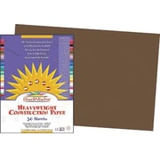 "Pacon SunWorks Construction Paper 12"" x 18"", Dark Brown (PAC6807)"