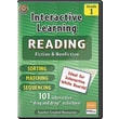 Teacher Created Resources® Interactive Reading Fiction Nonfiction Whiteboard Resource CD, Grades 1st