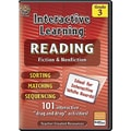 Teacher Created Resources® Interactive Reading Fiction Nonfiction Whiteboard Resource CD, Grades 3rd
