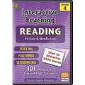 Teacher Created Resources® Interactive Reading Fiction Nonfiction Whiteboard Resource CD, Grades 4th
