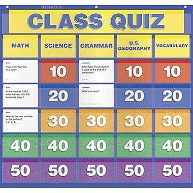 Teacher's Friend® Class Quiz Pocket Chart