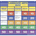 Scholastic Language Arts Class Quiz Grades 2-4 Pocket Chart Addons