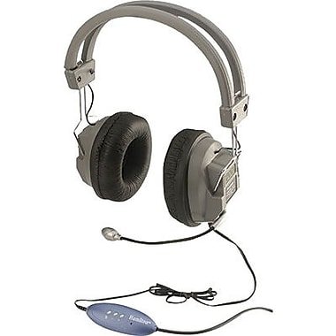 Hamilton Buhl HECHA5USBSM Over-Ear Headphone with Mic, Beige