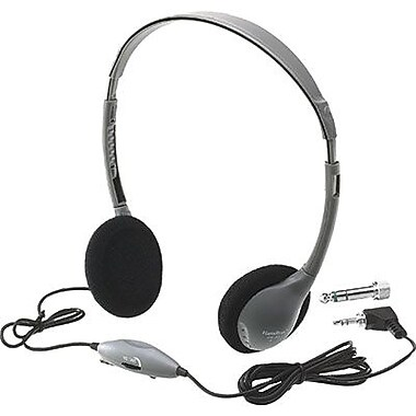 Hamilton Buhl™ SchoolMate Personal Stereo/Mono Headphone, In Line Volume