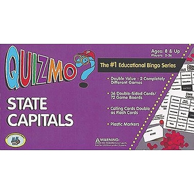 Learning Advantage™ Quizmo® Bingo Game, State Capitals