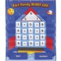 Learning Resources® Fact Family Blast Off Pocket Chart