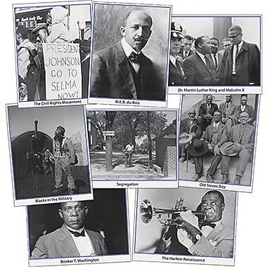 Edupress® Photo Activity Cards, Black History