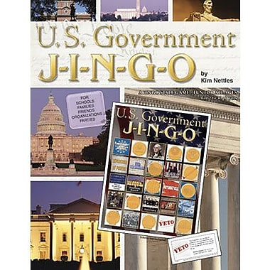 Gary Grimm & Associates® U.S. Government Jingo Game, Grades 4th - 12th
